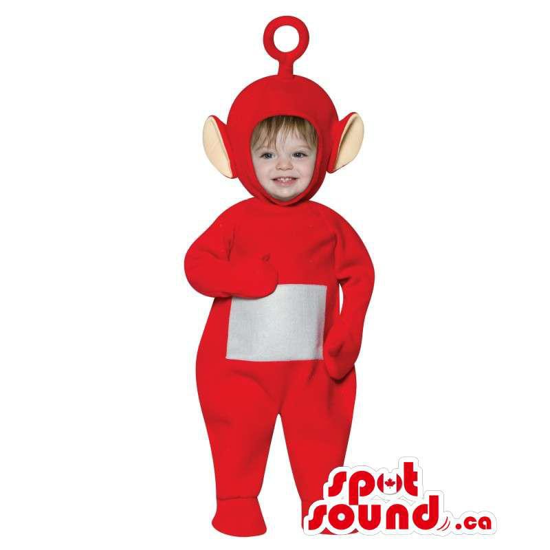 Red Apple Fruit Adult Size Costume Including A Stem Hat ...