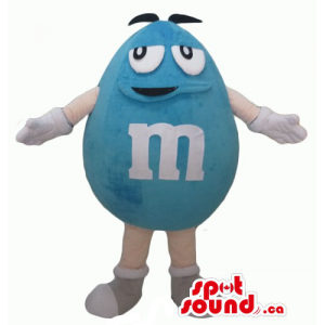Spoke male blue M&M's Candy...