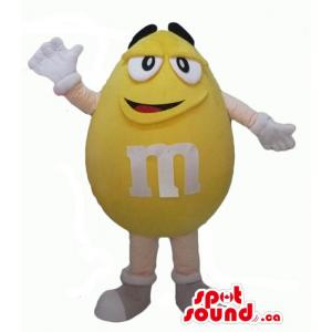 Amarillos felices de M & M...