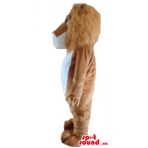 Kind brown & white Lion...