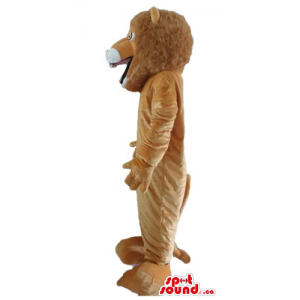 Brown the Lion Mascot...