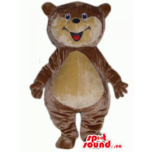 Brown Teddy Bear Mascot...