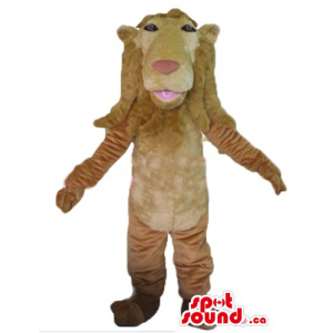 Deluxe kind Lion Mascot...