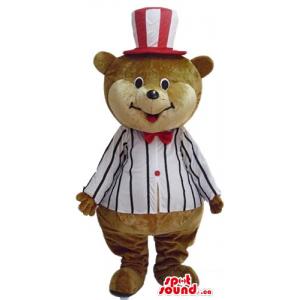 Happy Bear in a hat...