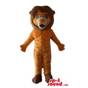 Deluxe orange brown Lion...