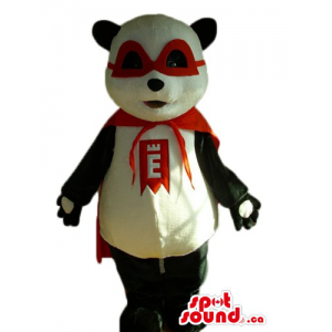 Panda Zorro  black and...