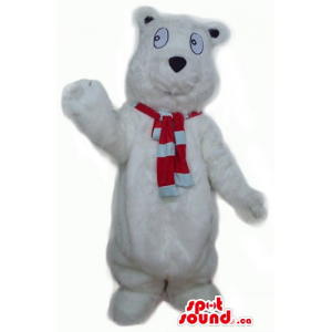 White Polar Teddy Bear...