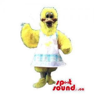 Yellow Chicken Or Hen...