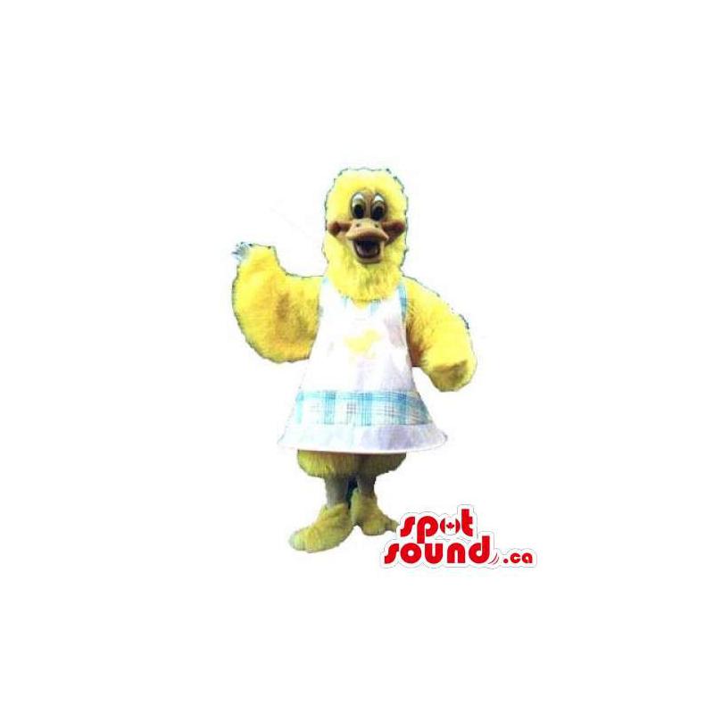 Mascota Pollo Amarillo De...