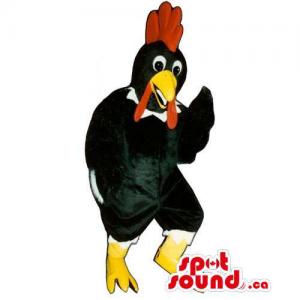 Customised Black Rooster...