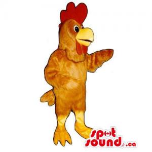 Customised Brown Hen Mascot...