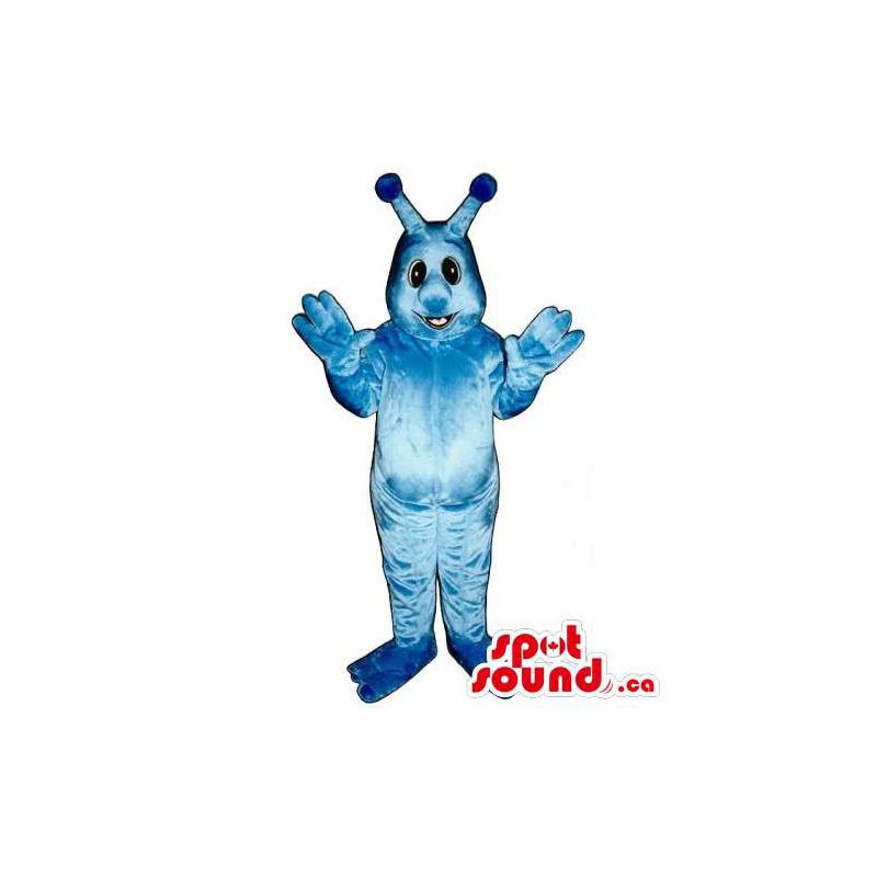 Mascota Monstruo Azul Y...