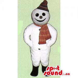 Customised Snowman Mascot...