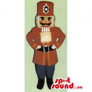 Nut-Cracker Soldier Mascot...