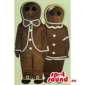 Ginger-Bread Men Couple...