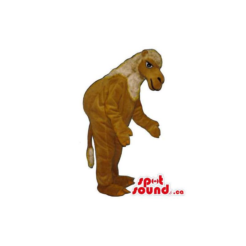Mascote animal Brown...