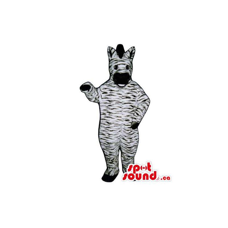 Mascot Plush Animal Zebra...