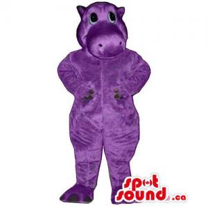 Cute All Purple Plush...