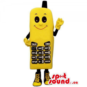 Yellow And Black Cellphone...