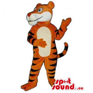 Customised Plush Tiger...