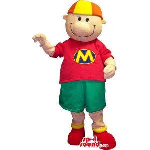Customised Boy Mascot...