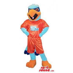 Blue And Orange Eagle...