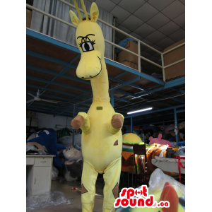 Customised Yellow Giraffe...