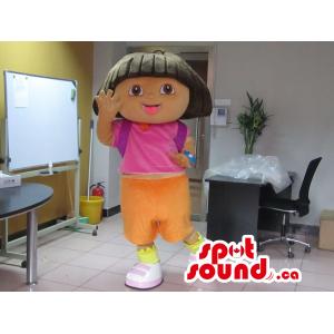 Dora The Explorer Girl...