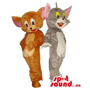 Tom And Jerry Cat And Mouse...