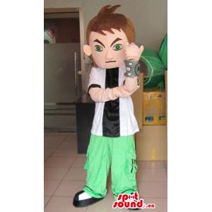 Human Boy Character Mascot...