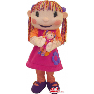 Girl Human Character Toy...