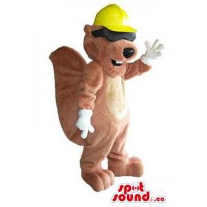 Brown Beaver Animal Plush...