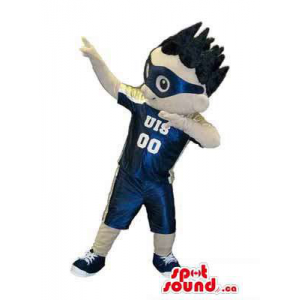 Boy Character Mascot...