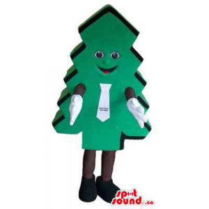 Large Green Tree Mascot...