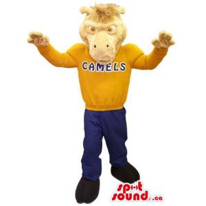 Light Brown Camel Plush...