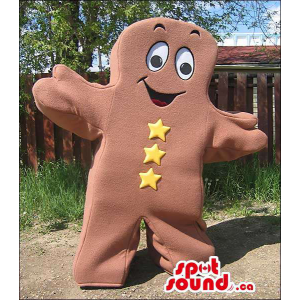 Brown Ginger Bread Man Or...