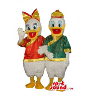 Donald And Daisy Duck...