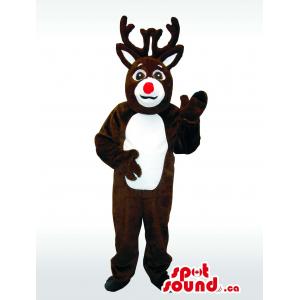 Dark Brown Reindeer Animal...