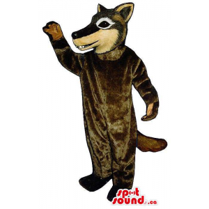 Customised Brown Wolf...