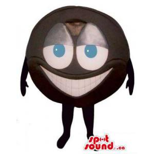 Peculiar Brown Ball Mascot...