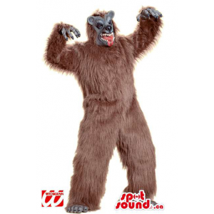 Large Woolly Brown Monster...