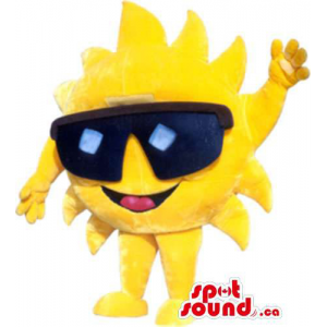 Bright Yellow Sun Plush...