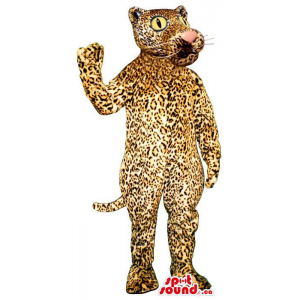 Great Leopard Plush Mascot...