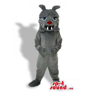 Angry Grey Creature Plush...