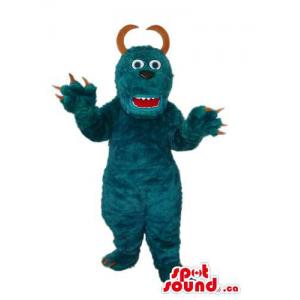 All Blue Monster Plush...