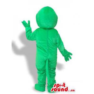 Mascota Monstruo Verde De...