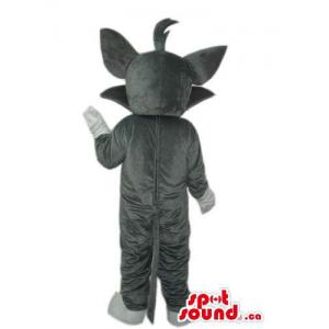 Tom Grey Cat Mascot From It...