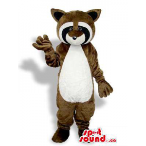 Brown Raccoon Animal Plush...