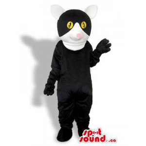 Black Creature Mascot With...