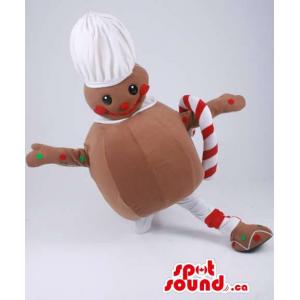 Ginger-Bread Man Mascot...